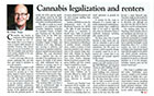 Dr. Landlord - Cannabis / Marijuana Leganization / Legalisation and Renters / Tenants