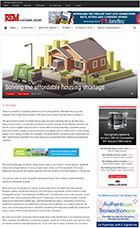 Real Estate Magazine - Solving the Affordable Housing Shortage