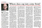 Real Estate Magazine - Where does Cap(italization) Rate Come From?