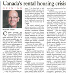 Real Estate Magazine - Canada's Rental Housing Crisis